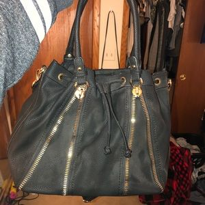 Handbags - Black with gold hardware purse